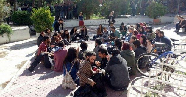 Ankara katliamını anmak isteyenler gözaltına  alındı