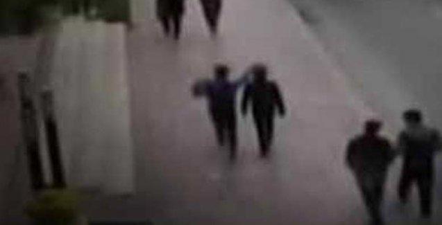 'Canlı bomba olduğu değerlendirilen' kişi 06:45'te kamerada