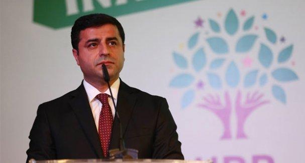 Demirtaş'tan Davutoğlu'na 'beyaz Toros' yanıtı