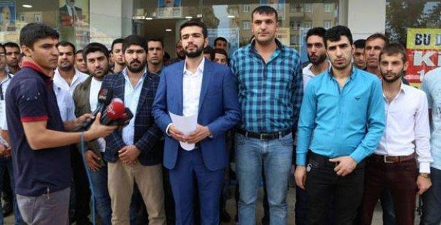 Diyarbakır'da AKP'den 27 kişi istifa etti