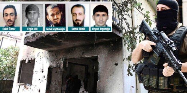 Diyarbakır'daki IŞİD operasyonunda öldürülenlerin kimlikleri belli oldu