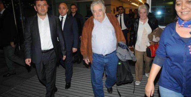 'Dünyanın en yoksul devlet başkanı' İstanbul'da