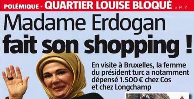 Emine Erdoğan Belçika'da mağaza kapattı, alışveriş yaptı