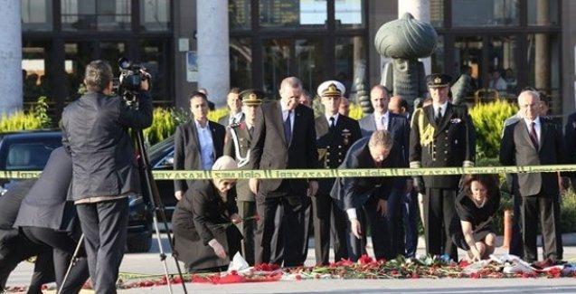 Erdoğan dört gün sonra katliamın yaşandığı yere gitti