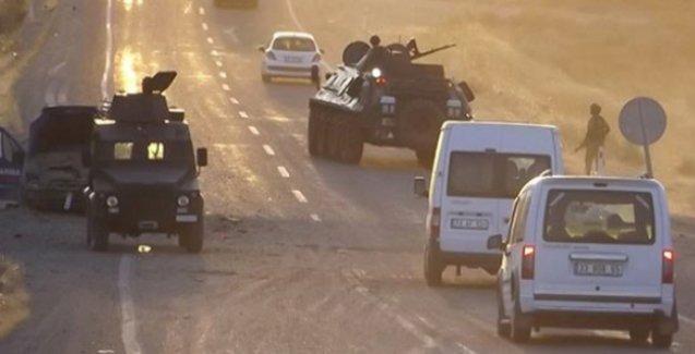 Giresun'da askeri araca saldırı: 1 asker yaralı