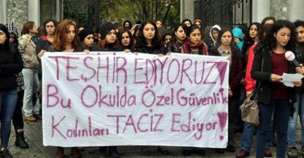 İstanbul Üniversitesi'nde kadın öğrenciler tacizci güvenlik görevlisini ifşa etti