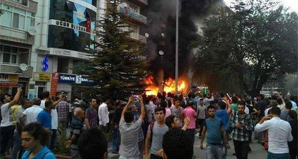 Kırşehir'deki iş yerleri listeye göre yakılmış!