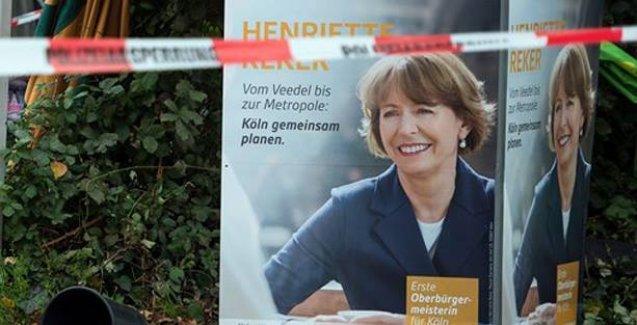 Köln'de seçimi Neonazi saldırısına uğrayan aday kazandı
