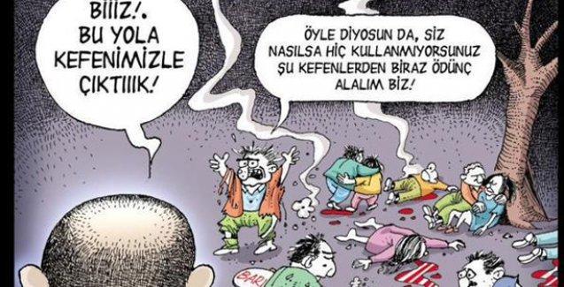 LeMan'dan Ankara katliamı: Biiizz bu yola kefenimizle çıktık