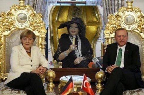 Merkel'in İstanbul ziyareti sosyal medyada böyle görüldü