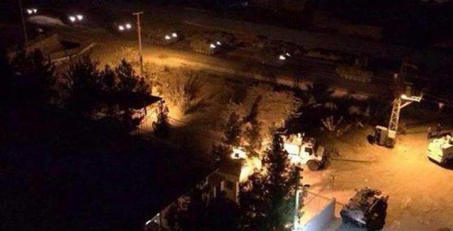 Nusaybin'de çatışmalar: Mahalleye girmek isteyen bir tankın geçişi sırasında patlama