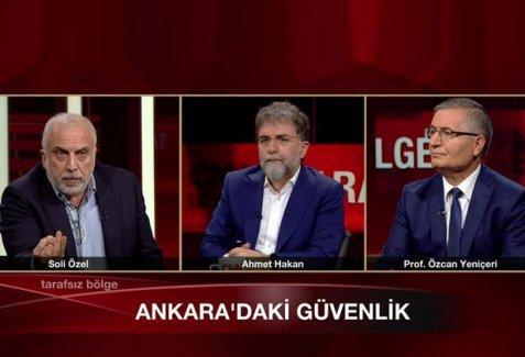 Özcan Yeniçeri'den Ankara saldırısıyla ilgili garip ifadeler
