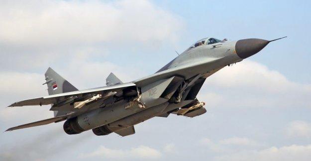 Rus uçakları Halep ve Palmira'daki IŞİD hedeflerini bombaladı