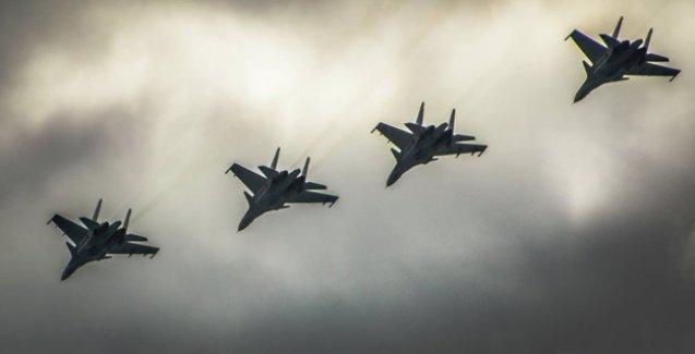 Rusya: Jetlerimiz Rakka'yı vurdu