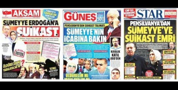 'Sümeyye Erdoğan'a suikast planı' iddiasına sahte diyen hakim Konya'ya sürüldü