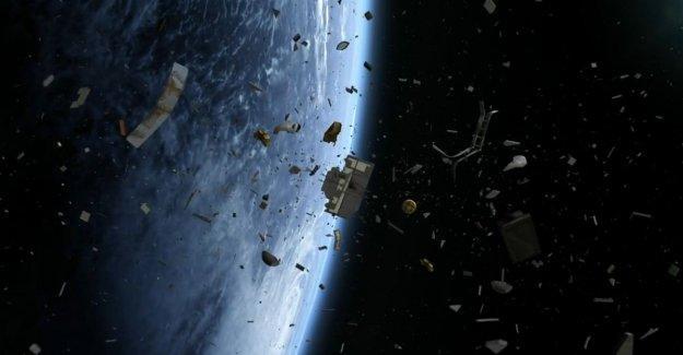 Uzay çöplüğü dünyaya düşecek