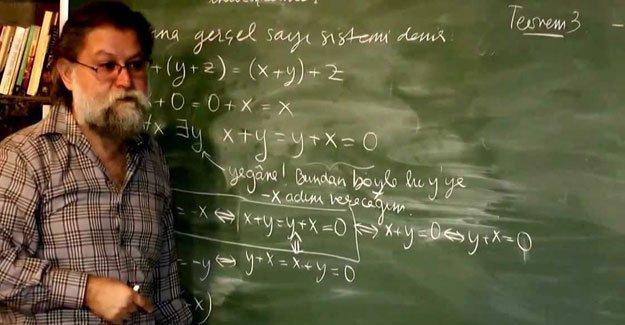 Ali Nesin, Celal Şengör etkinliğinin iptal edilmesini eleştirdi