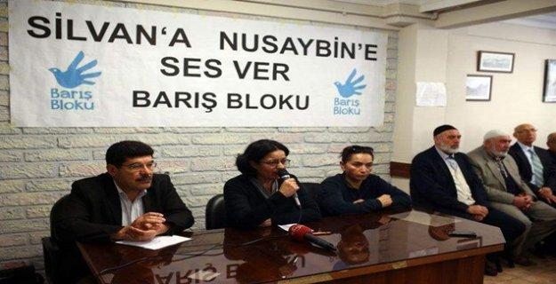 Barış Bloku: 'Silvan'ı birlikte inşa edelim