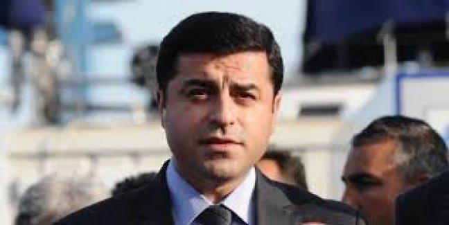 Demirtaş'tan suikast girişimine karşı suç duyurusu