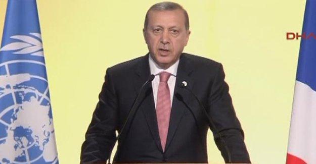 İklim Zirvesi'nde Erdoğan'dan Putin'e: İftiralarla bu iş yürümez