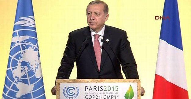 İklim Zirvesi'nde Rus muhabirden Erdoğan'a: Neden IŞİD'i destekliyorsunuz?