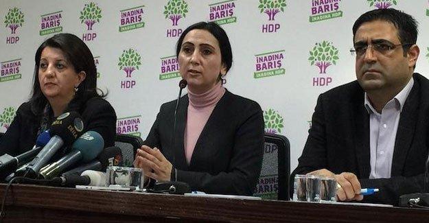HDP: Demirtaş'a yapılan açık bir suikast girişimidir