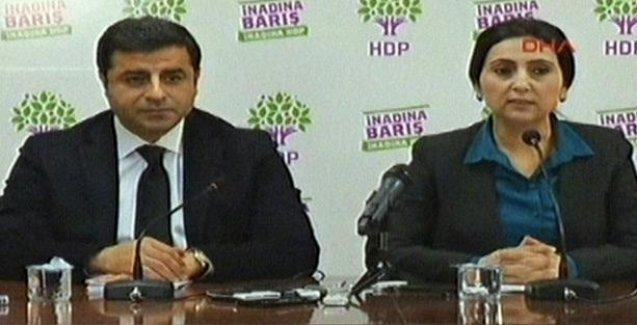 HDP Eş Genel Başkanları seçim sonucunu değerlendirdi