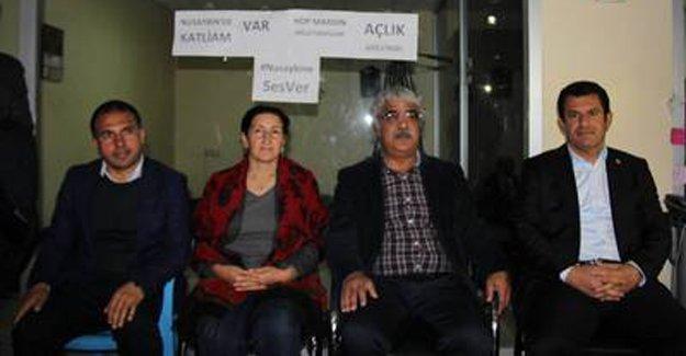 HDP'li milletvekillerinin açlık grevi 4. gününde