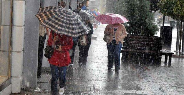 İstanbul'da yarın kuvvetli sağanak bekleniyor