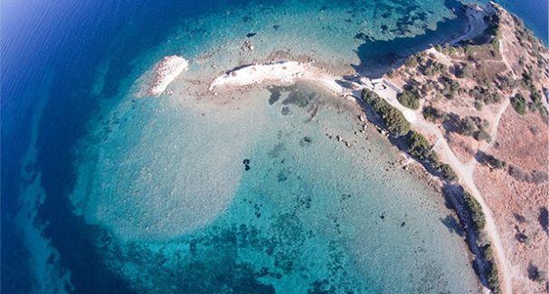 İzmir'de antik 'kayıp ada' bulundu