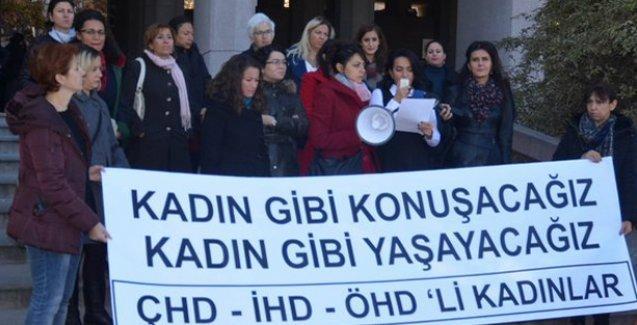 Kadınlardan Hacıosmanoğlu hakkında suç duyurusu