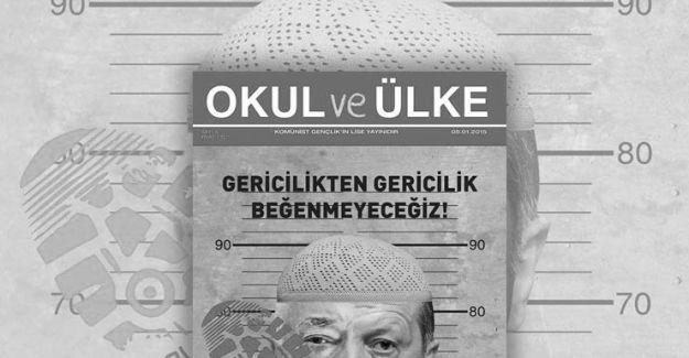 Komünist Parti yöneticisine dergi kapağından ceza