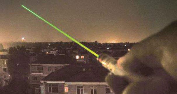 Lazer pilotun retinasını yaktı