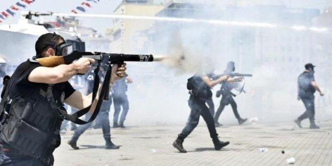Mahkemeye göre, polisin Gezi'de kullandığı göz yaşartıcı gaz 'hizmet aracı'