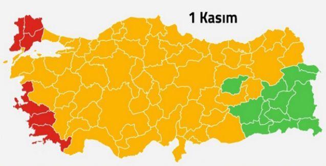 MHP Türkiye haritasından silindi