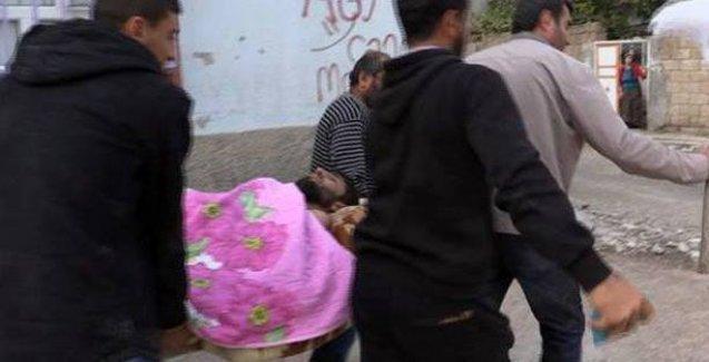 Nusaybin'de 2 kişi yaralandı