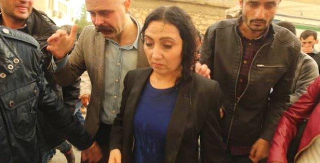 Silvan'da Figen Yüksekdağ'ın katıldığı yürüyüşe polis saldırdı