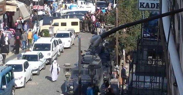 Sur'da polis ablukası