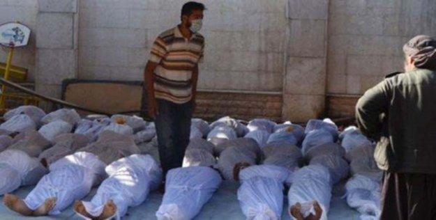 'Suriye'de kimyasal silah kullanıldı'