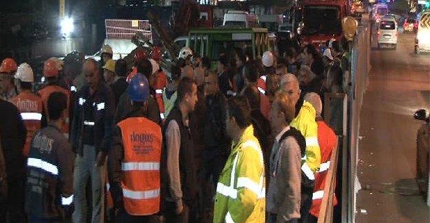 Üsküdar metro inşaatında iş cinayeti