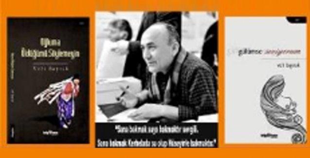 Veli Bayrak İstanbul Kitap Fuarı'nda