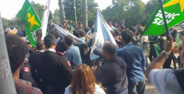 YÖK protestosunda çok sayıda gözaltı