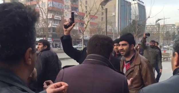 Batman'da polis HDP'li vekili darp edip, yanı başında havaya ateş açtı