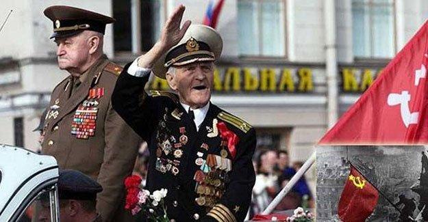 Berlin'e kızıl bayrağı diken asker hayatını kaybetti