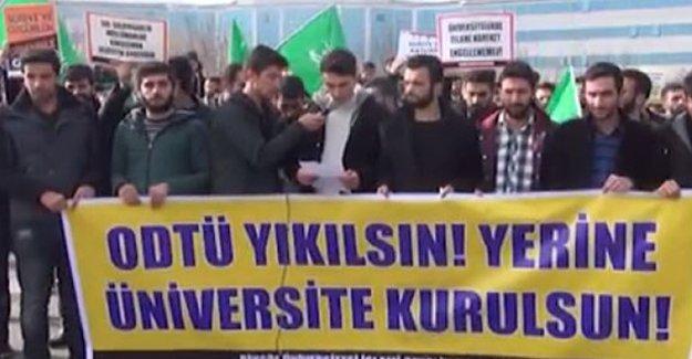 Bingöl Üniversitesi: ODTÜ yıkılsın yerine üniversite kurulsun