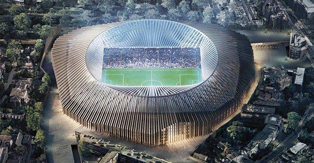 Chelsea'ye  60.000 kişi kapasiteli, 600 milyon sterlinlik yeni stat