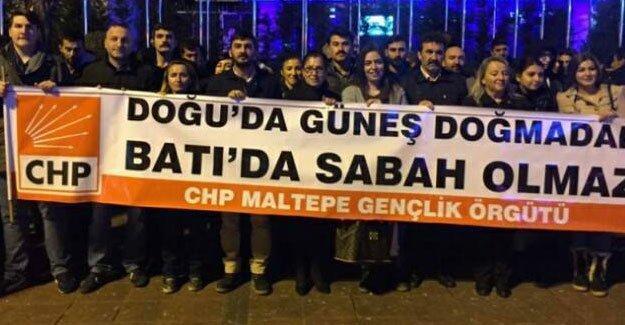 CHP'li gençler: Doğu'da güneş doğmadan Batı'da sabah olmaz