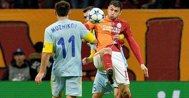 Galatasaray yoluna UEFA Avrupa Ligi'nde devam edecek