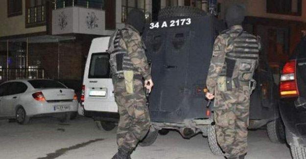 İstanbul'da 22 ilçede operasyon: 20 kişi gözaltına alındı