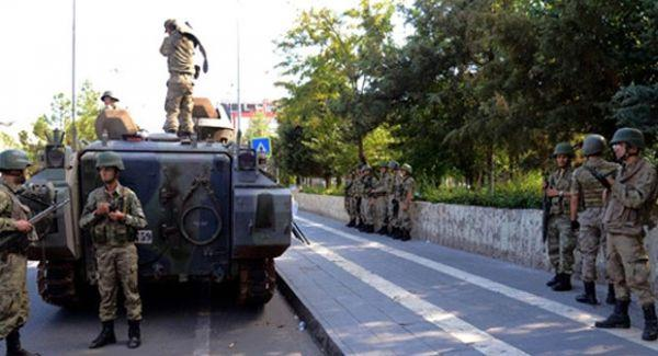 İki ilçede 'geçici askeri güvenlik bölgesi' ilan edildi